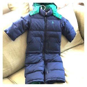 Polo down snowsuit